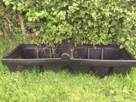 500 litre rectangular water trough