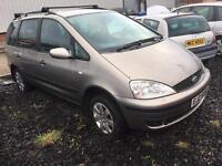 2003 FORD GALAXY ZETEC 1.9TDI WITH ENGINE SEPARATE , TRADE IN SOLD AS WHOLE £300