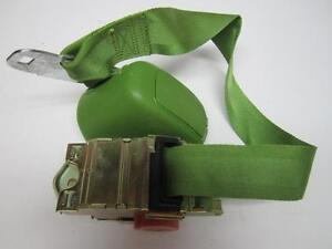 74-75-Chevrolet-Oldsmobile-B-C-E-Body-LH-Seat-Belt-Assembly-NOS-Green-9729667