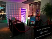 Photo Booth Hire (Cube Booth From £275 Inc guestbook and tons of extras)