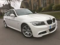 BMW 3 Series 2.0 318i M Sport Touring 5dr FULL BMW SERVICE ESTATE WHITE PETROL