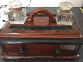 Early 20th Century Mahogany Writing Box