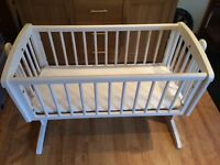 Mothercare swinging crib