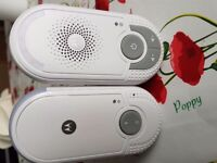 Motorola baby voice monitor