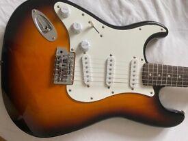 Left handed Fender Stratocaster