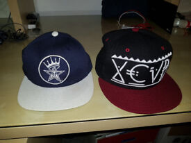 OBEY PROPAGANDA AND XCVB SNAP BACK, MINT CONDITION.