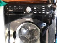 Hotpoint Aquarius WDF740 7 kg washer dryer 7kg black colour very nice condition for sale