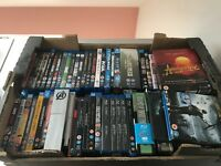 Job Lot - Over 75 Mixed Blu-Ray's including 13 Boxsets and 5 Steelbooks