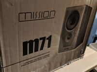 Mission M71 Front Main Speakers