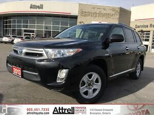 2013 Toyota Highlander Hybrid Leather, Sunroof, B. Cam, Fog, Pus