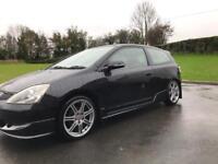 Honda Civic sport 1.6 type r rep black not BMW Audi golf Vw