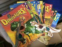 Dinosaur collectable magazines