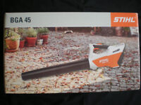 Stihl BGA45 garden leaf blower
