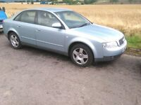 2001 Audi A4 B6 2.0 Automatic saloon Breaking for Spares Parts
