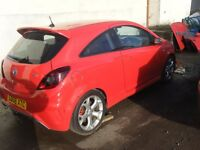 BREAKING VAUXHALL CORSA VXR TURBO 4 PARTS WILL SELL BARE SHELL WITH ID FOR £500
