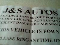 J & S AUTOS MOTORS WANTED