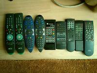 Last price ! 9 remote controls