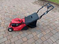 Honda petrol self powered mower with roller