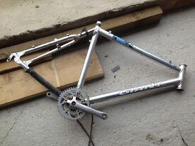 Mens Giant aluminium bike frame