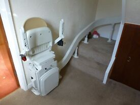 Acorn Curved Stair Lift