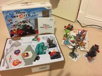 Disney infinity starter pack for wii and extras