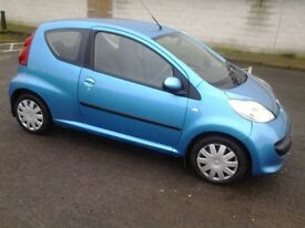 PEUGEOT 107 URBAN 1.0, FULL YEAR MOT, £30 TO TAX . TEL 07827546282 CITROEN C1 TOYOTA AYGO, CLIO,