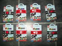 Job Lot 1D One Direction Blingkers Official Collectible Wristbands Bracelets x 8