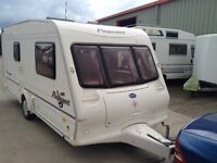 Bailey Pageant Monarch 2 berth caravan very good condition