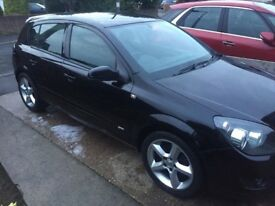 Vauxhall Astra SRI 1.8 16v in metallic black