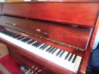 upright modern piano by regent-- summer sale price--