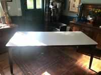 Grey Extending Dining Table