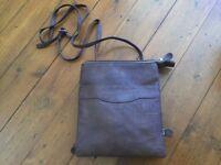 Brown smart handbag