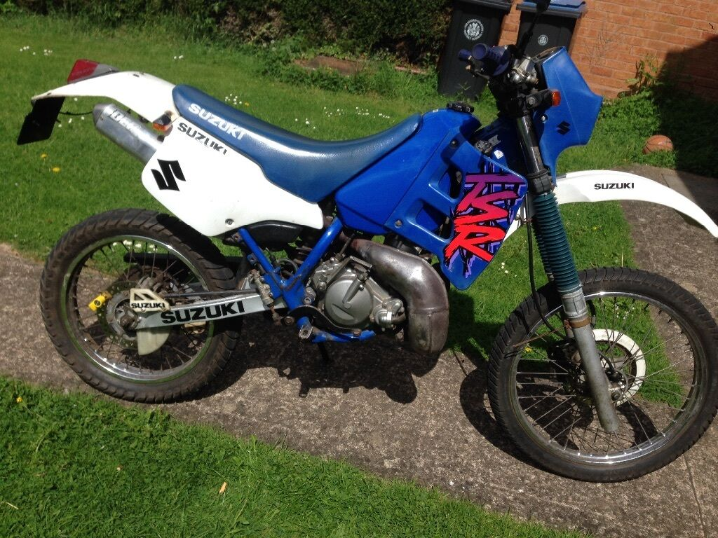suzuki tsr 125 1996 rare enduro green lane crosser offroad mottocross in stratford upon avon. Black Bedroom Furniture Sets. Home Design Ideas