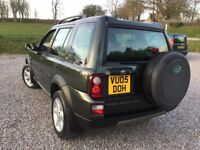 2005 LANDROVER FREELANDER TD4 HSE S/W H/B/A 4X4 DRIVE, SHOWROOM CONDITION .