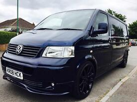 2008 VOLKSWAGEN T5 104 LONG WHEEL BASE NEW MOT