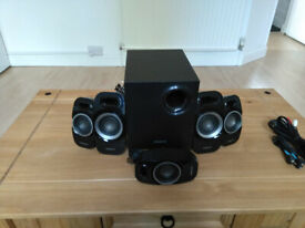 Creative Inspire Surround Speaker System with Wired Remote Control