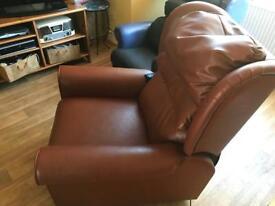 Rise recliner armchair, duel motor OFFERS.
