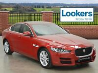 Jaguar XE PRESTIGE (red) 2016-03-31