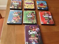 The SIMS 2 PC CD-ROMs - includes expansion packs