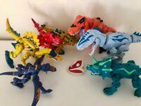 Rare Jurassic World mashers bundle - excellent condition
