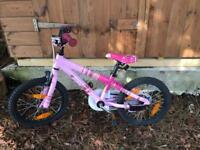 Girls Scott bike 16 inch frame