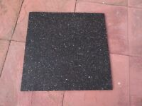 Rubber anti-vibration mat to prevent excessive vibrations from washing machines