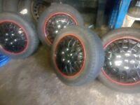 Citroen Berlingo van tyres