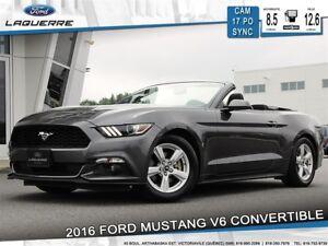 2016 Ford Mustang V6 CONVERTIBLE **SYNC*BAS KILO*CAM**