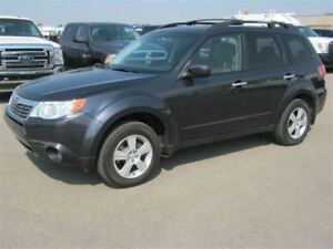2010 Subaru Forester 2.5 X AWD | Touring Package | Sunroof | Pwr