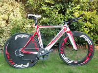 Ridley Dean RS Time Trial TT Triathlon Road Bike