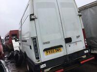 Iveco daily double wheel 5.5 tones mwb high top van breaking spare parts