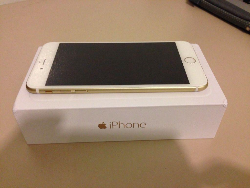 apple iphone 6 plus 5 5 64gb gold grade a model. Black Bedroom Furniture Sets. Home Design Ideas