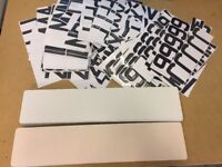 RESIN GEL NUMBER PLATE SET UP BUSINESS START UP WITH BLANK PLATES