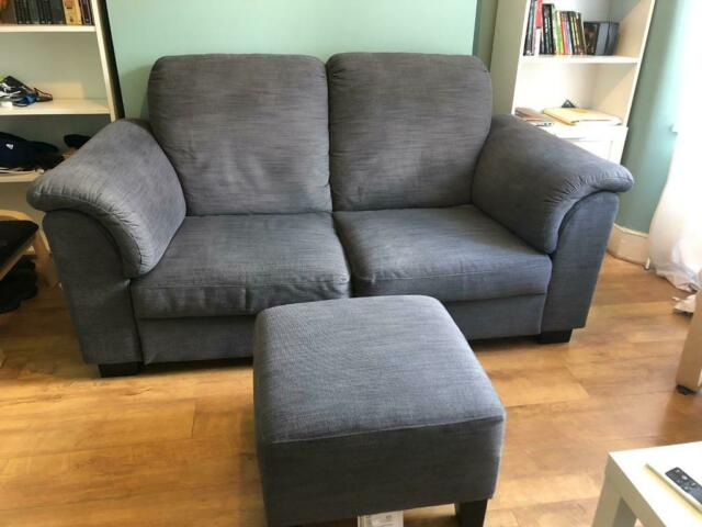 Terrific Ikea Tidafors Two Seat Sofa And Ekenas Footrest In Plaistow London Gumtree Machost Co Dining Chair Design Ideas Machostcouk